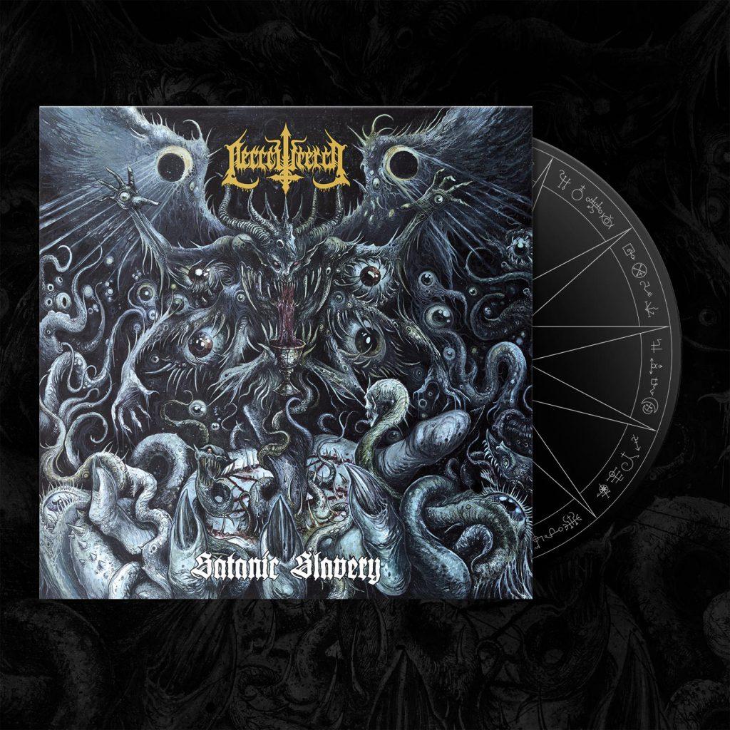CD Satanic Slavery Digipack