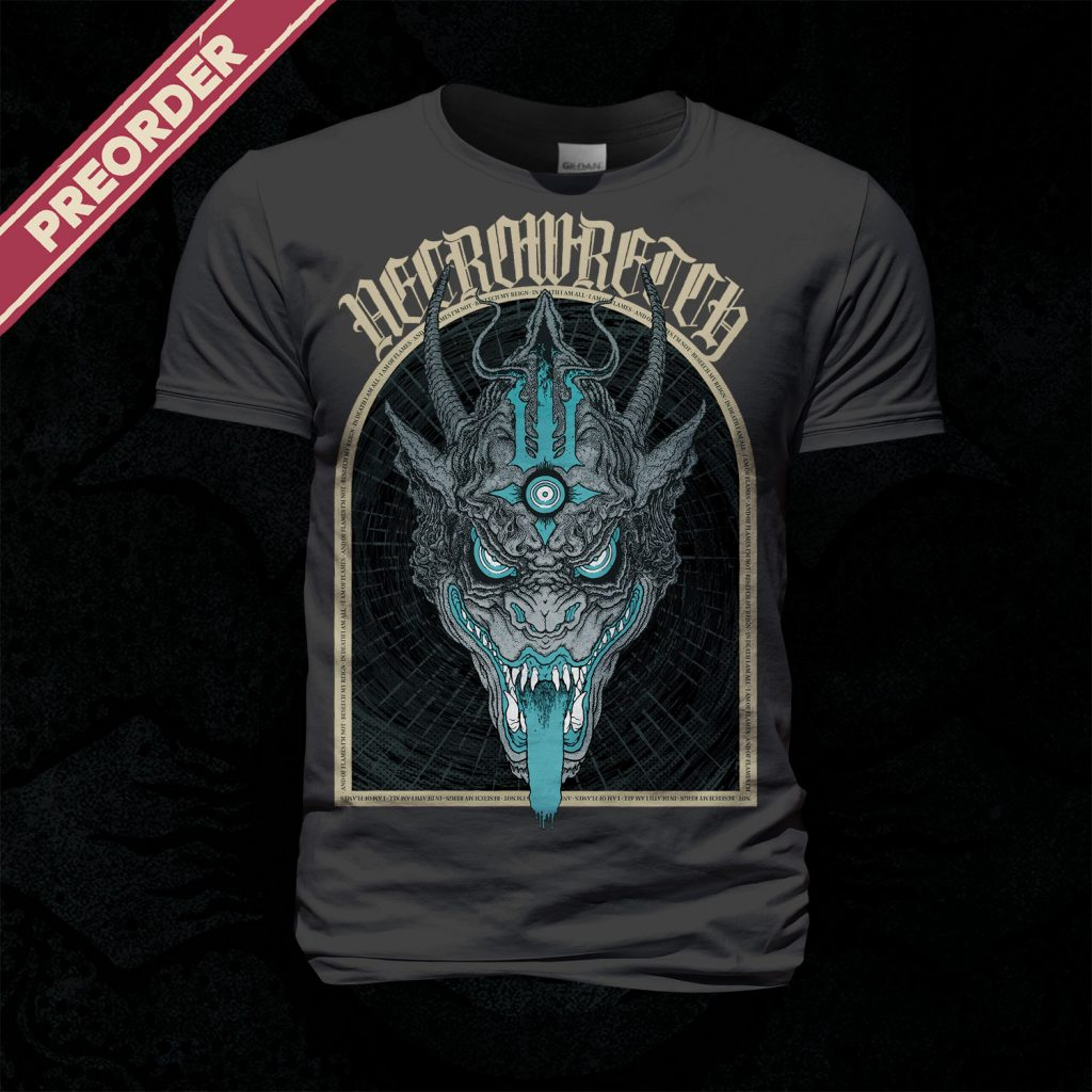 T-Shirt The Ones From Hell – Beast Blue (Dark Grey Shirt)