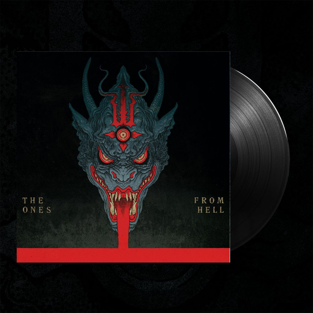 LP The Ones From Hell – Black