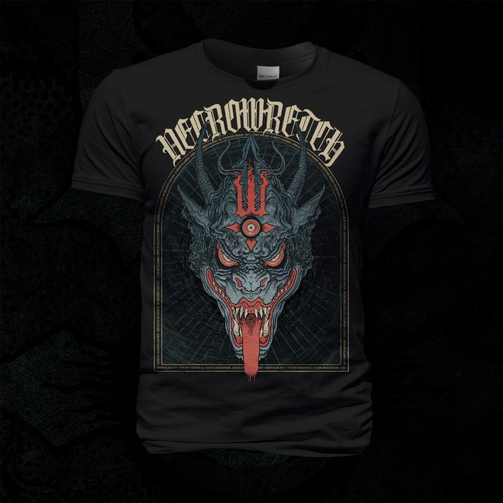 T-Shirt The Ones From Hell – Beast Standard