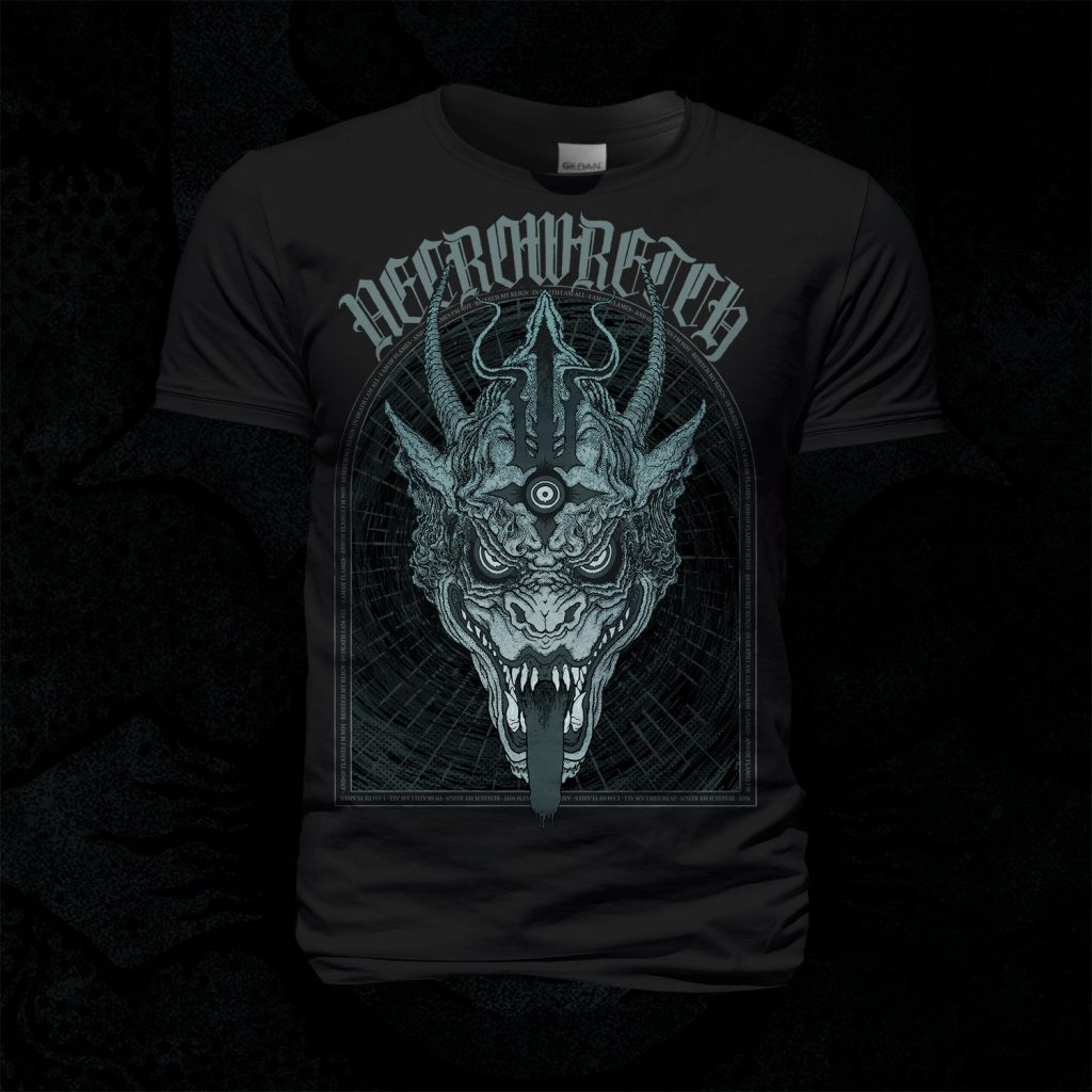 T-Shirt The Ones From Hell – Beast Grey