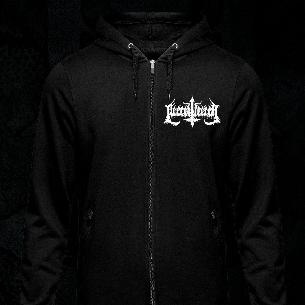 Zipped Hoodie – Pure Satanic Death Metal